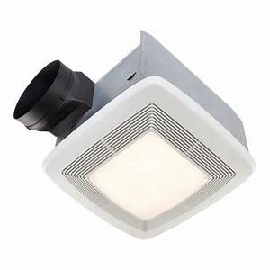 Broan? quiet ceiling bath fan with light and night