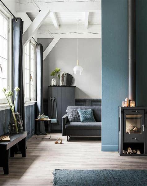 Salon Bleu Pétrole, Bleu Canard Et Bleu Paon