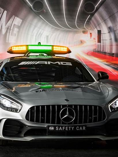 F1 Safety Mercedes Gt Amg Wallpaperpure