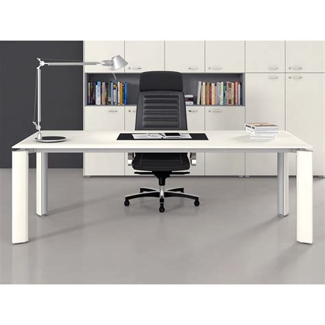 table de bureau but table bureau direction fill evo 4 pieds mobilier de bureau