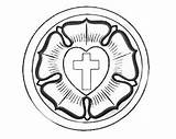 Reformation Lutherrose Ausmalbilder Lutero Religionsunterricht Sketchite Malvorlage Reforma Apostles Freecoloringpages Malvorlagan sketch template
