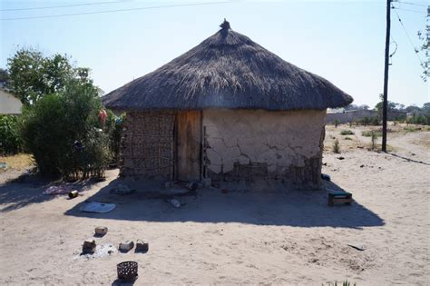 Grass Hut Roof by Unearththeworld Hut Building In Zambia