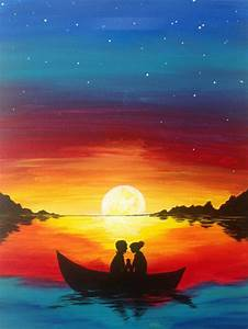 25+ great ideas about Sunset paintings on Pinterest