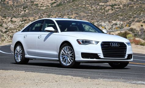 2016 Audi A6 20t Quattro Test  Review  Car And Driver