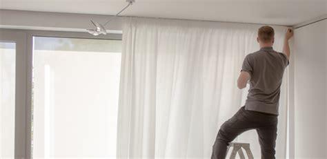 Vorhang Für Gardinenschiene by Gardinenschienen Kaufen G 252 Nstig Hochwertig