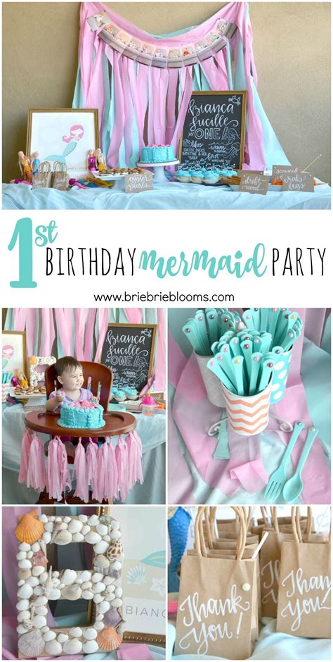 birthday mermaid party  birthday mermaid