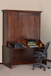 Murphy Bed Desk Combo Ikea by Murphy Wall Bed And Desk Amish Murphy Desk Bed