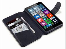 CaseBoutique Leather Wallet Case Hoesje voor Microsoft