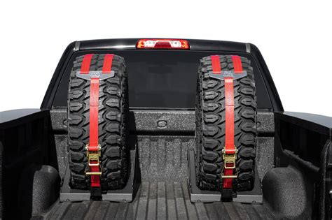 Truck Bed Spare Tire Carrier by Universal Truck Tire Carrier