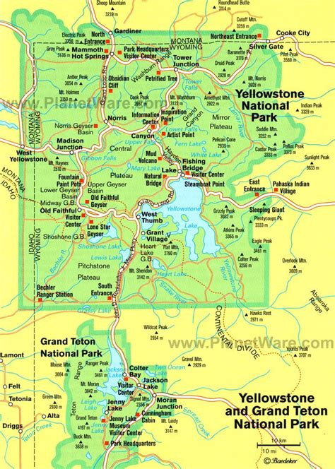 visiting yellowstone national park  attractions tips