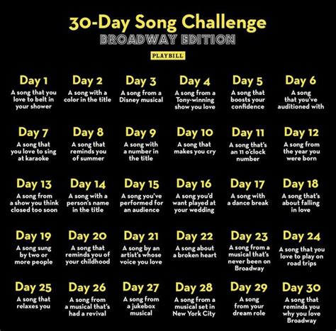 Your selections applied to similar templates! Bingo Challenge in 2020   Song challenge, 30 day song challenge, Music challenge