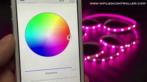 app controlled led lights wifi led controller rgbw led strip app control instruction