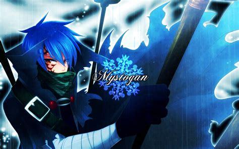 blue hair fairy tail anime boys fernandes jellal