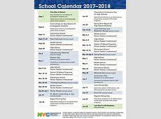 2017 2018 NYC Public Schools' Calendar UFT Solidarity