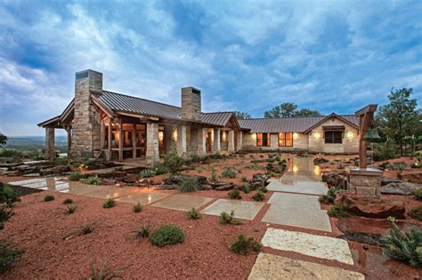 images hill country style homes a timber home in hill country