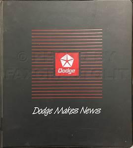1991 Dodge Ram 50 Truck Repair Shop Manual Original 2