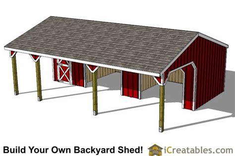 run  shed  tack room   breezeway