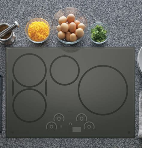 ge induction cooktop 30 ge chp9530sjss 30 inch induction cooktop with 4 cooking