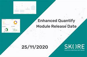 New Quantify Module Released This Week