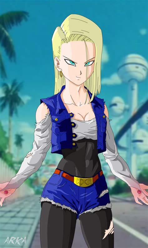 z android 18 androide 18 android 18 by cffc2010 on deviantart