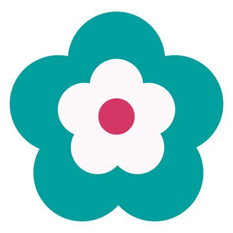 foto de icono de la flor de la turquesa Descargar PNG/SVG
