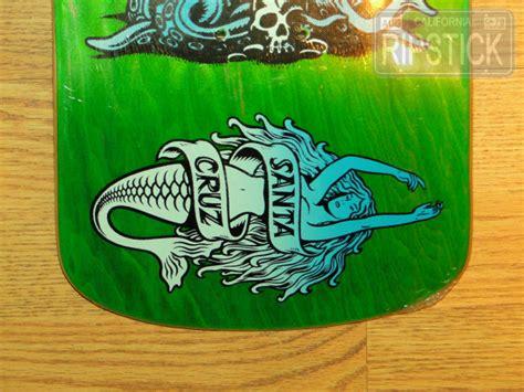 2003 Santa Cruz Jason Jessee Neptune 2 Nos Skateboard Deck