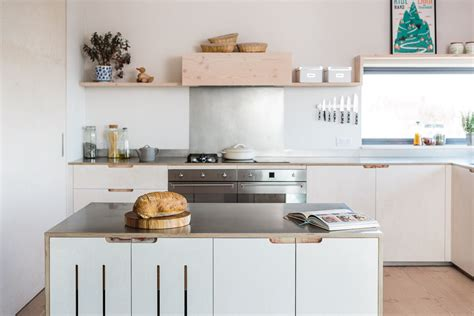 stainless steel kitchen island on wheels contemporary eco kitchen in the cotswolds sustainable