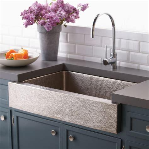 paragon single basin farmhouse kitchen sink native trails