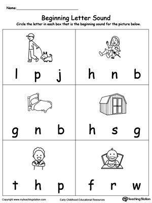 beginning letter sound ed words  images beginning