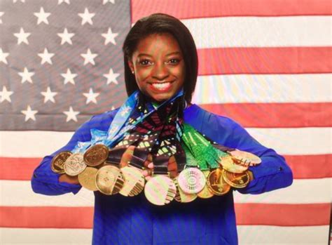 Simone Biles Olympic Medals