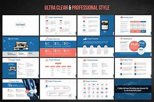 web design development project proposal powerpoint With project review template ppt