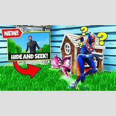 *new* Hide & Seek Custom Gamemode In Fortnite Battle Royale! Youtube