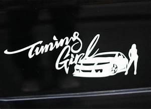 Tuning Girl JDM Car Decal Sticker – New idea Stickers