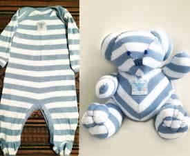 build your own teddy memory sleeper onesie stuffed animal by stuffsbylara