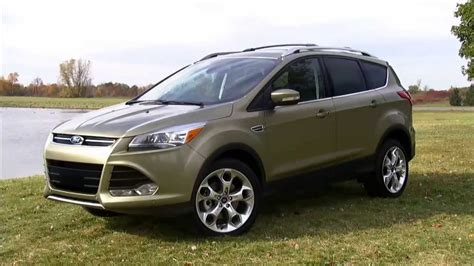 2014 Ford Escape Review  Youtube