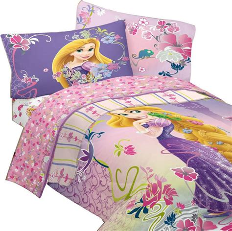 disney tangled twin bedding rapunzel magic flowers bed set