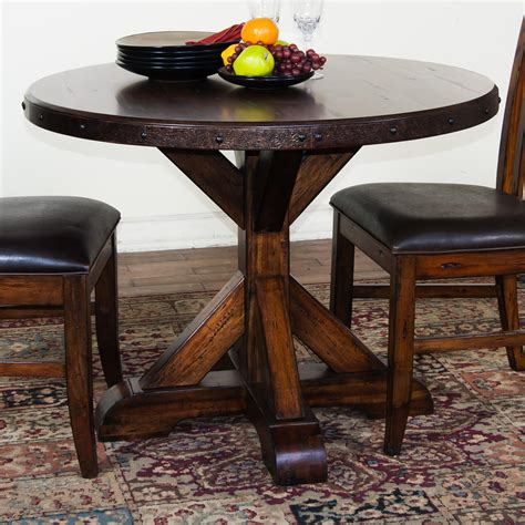 rustic kitchen tables and chairs exciting pedestal table with armless chairs ideas