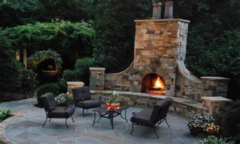 landscaping kits prefab outdoor fireplace kits