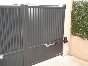 Fixation Portail Battant : comment choisir sa motorisation de portail maison et ~ Premium-room.com Idées de Décoration