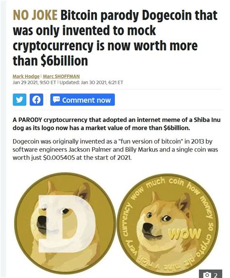 Dogecoin Standard Meme - Is Dogecoin A Real Investment Or ...