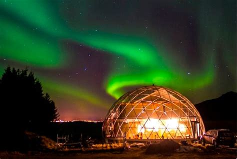 Ecofriendly Dome Home In The Arctic Is Completely Self