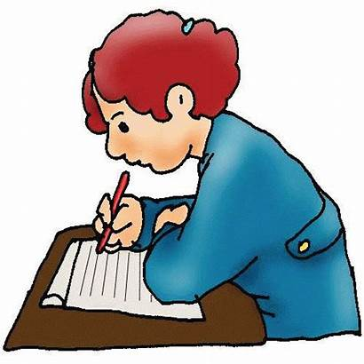 Writing Clipart Clip Children Writer Write Written