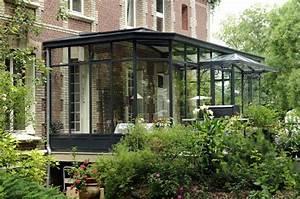 Veranda à L Ancienne : une v randa moderne en acier et fer forg la mani re ~ Premium-room.com Idées de Décoration