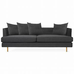 Gus Modern Margot Sofa in Oxford Zinc