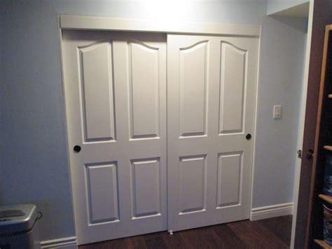 panel  track top hung hollow core bypass closet doors