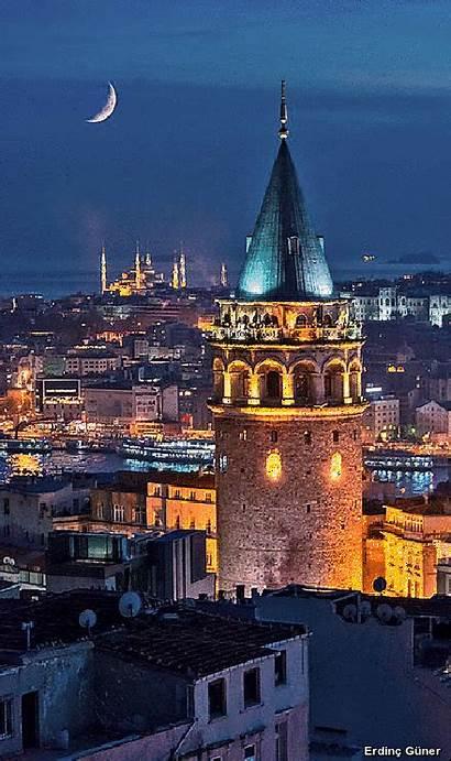 Turkey Istanbul Galata Kulesi Tower Places Turkish