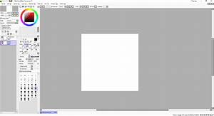 Drawing On Windows 10 With The Painttool Sai 2 0 Painting Application