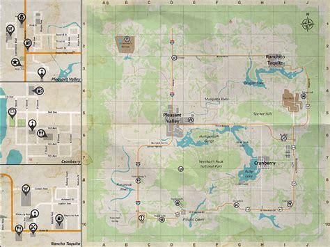 pleasant valley area map  survive survivors rest