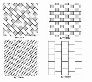 Bathroom tile patterns tile contractor atlanta ensotile for Carpet tile installation patterns