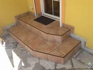 Venkovní schody na terasu